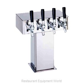 Perlick 4006-30BPC4 Draft Beer Dispensing Tower Head Unit