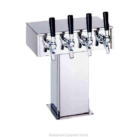 Perlick 4006-4BPC Tee Tower Beer Dispenser