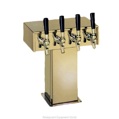 Perlick 4006-4BTF Tee Tower Beer Dispenser