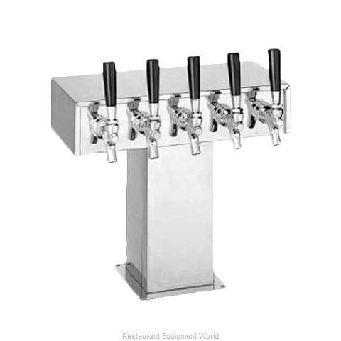 Perlick 4006-5BPC2 Tee Tower Beer Dispenser