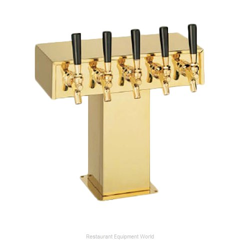 Perlick 4006-5BTF Tee Tower Beer Dispenser