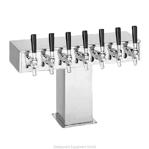 Perlick 4006-7BPC4 Tee Tower Beer Dispenser