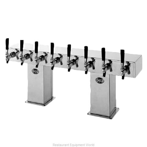 Perlick 4006-8BPC2 Bridge Tower Beer Dispenser
