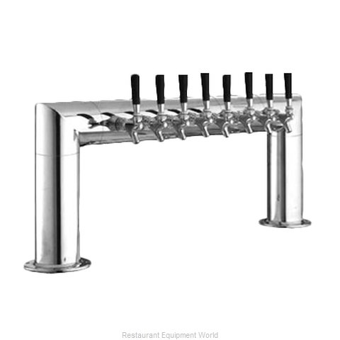 Perlick 4008-8B Draft Beer Dispensing Tower