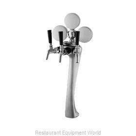 Perlick 4045GD-3BIM Draft Beer Dispensing Tower