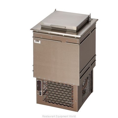Perlick 8000A Ice Cream Dipping Cabinet, Drop-In