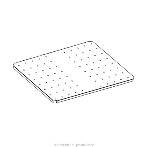 Perlick C30874-1 Perforated Cover Plates