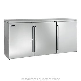 Perlick DB72 Back Bar Cabinet, Non-Refrigerated