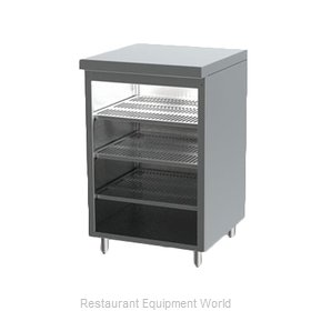 Perlick DBGS-18 Back Bar Cabinet, Non-Refrigerated