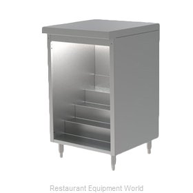 Perlick DBLS-18 Back Bar Cabinet, Non-Refrigerated