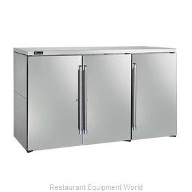 Perlick DBN60 Back Bar Cabinet, Non-Refrigerated