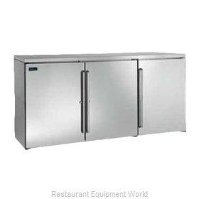 Perlick DBP72 Back Bar Cabinet, Non-Refrigerated