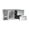 Perlick DZS60 Back Bar Cabinet, Refrigerated