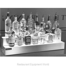 Perlick LMD2-24L-BL Liquor Bottle Display, Countertop