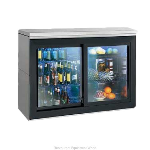Perlick SDBR48 Backbar Cabinet Refrigerated