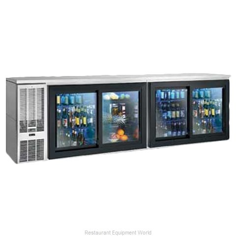 Perlick SDBS108 Backbar Cabinet Refrigerated (Magnified)