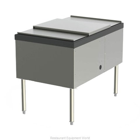 Perlick SS24IC10 Underbar Ice Bin Cocktail Unit Pass-Thru (Magnified)