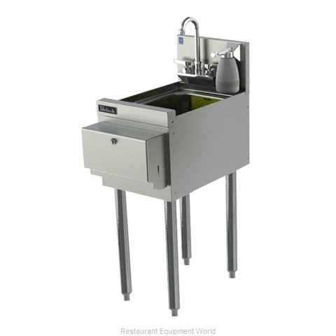 Perlick TS12HSN Underbar Hand Sink Unit (Magnified)