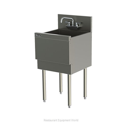 Perlick TS181CA Underbar Sink (Magnified)