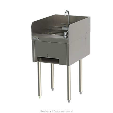Perlick TS18HSN Underbar Hand Sink Unit (Magnified)