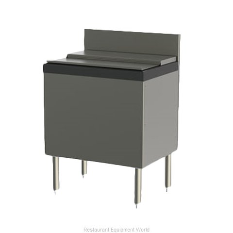 Perlick TS24IC-EC Underbar Ice Bin/Cocktail Unit (Magnified)
