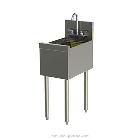 Perlick TSD12HS Underbar Hand Sink Unit (Magnified)