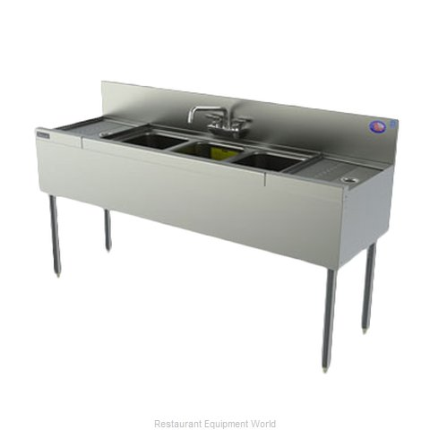 Perlick TSD63C Underbar Sink Units (Magnified)