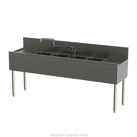 Perlick TSD94C Underbar Sink Units (Magnified)