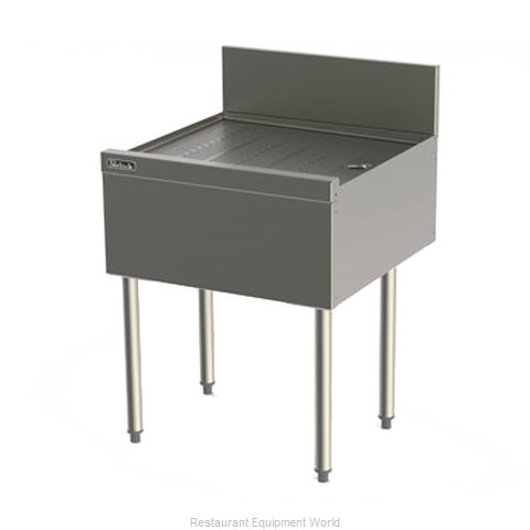 Perlick TSF42 Underbar Drainboard Unit (Magnified)