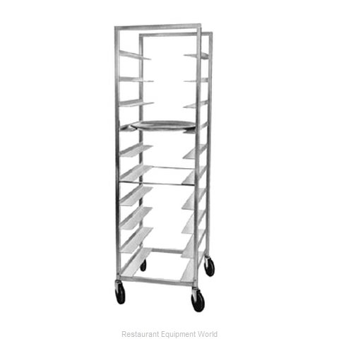 Piper Products 110 Rack Mobile Oval Tray Storage
