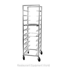 Piper Products 110 Oval Tray Storage Rack, Mobile