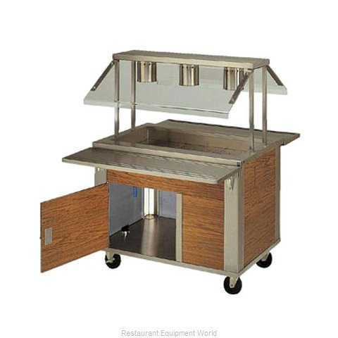 Piper Products 2-CI Serving Counter Cold Pan Salad Buffet