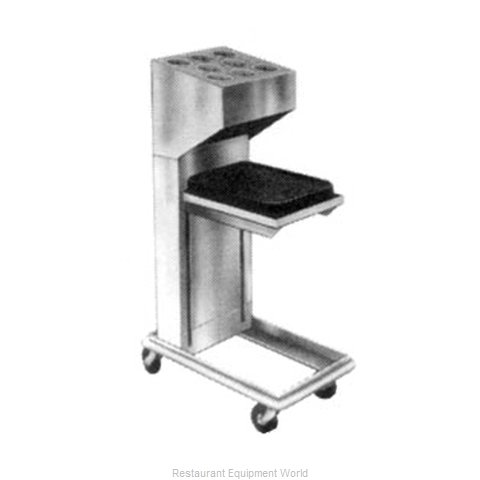 Piper Products 2ATCA-ST-OSW8 Flatware & Tray Cart