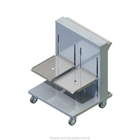 Piper Products 2ATCA-ST Dispenser Tray Rack