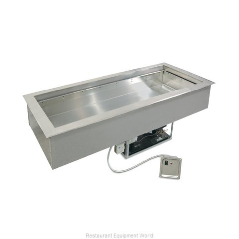 Piper Products 2BCM-DI Cold Food Well Unit, Drop-In, Refrigerated