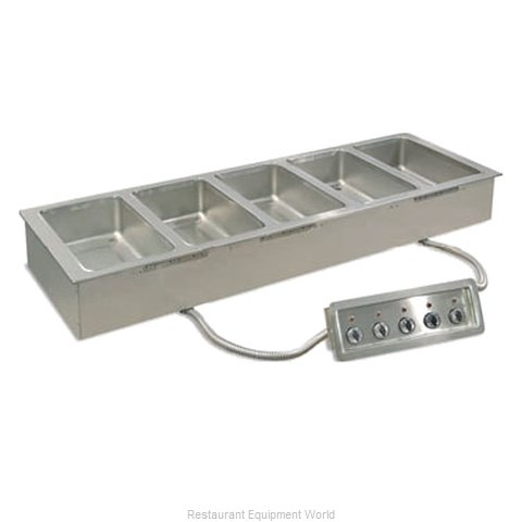 Piper Products 2HFW-1 Hot Food Well Unit Electric Drop-In Top Mount