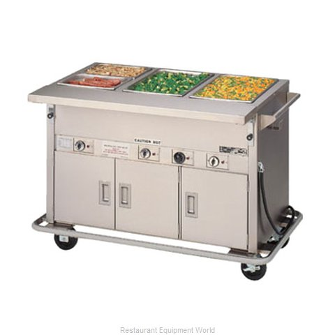 Piper Products 3-HF-HIB Serving Counter Hot Food Steam Table Electric