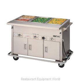 Piper Products 3-HF-HIB Serving Counter, Hot Food, Electric