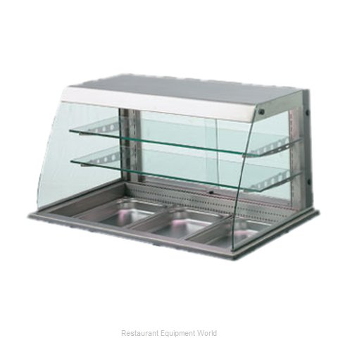 Piper Products 31719 Display Case Refrigerated Merchandiser Drop-In