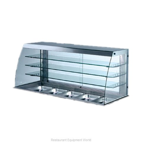 Piper Products 31808 Display Case Refrigerated Merchandiser Drop-In