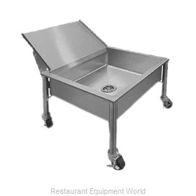 Piper Products 337-3477 Soak Sink, Portable