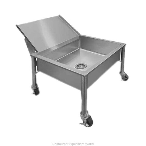 Piper Products 337-3557 Soak Sink Portable