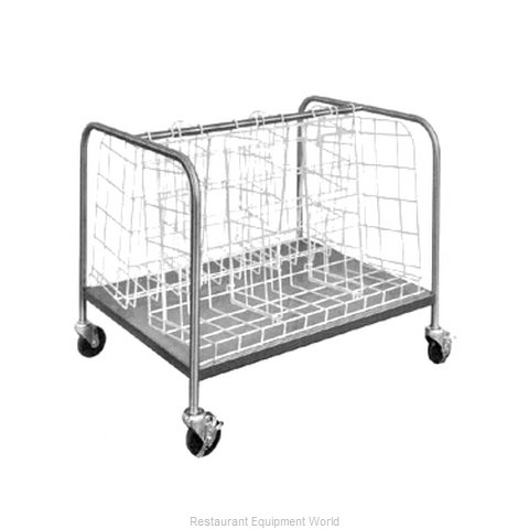 Piper Products 339-3486 Cart, Dish