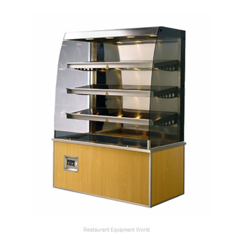 Piper Products 35015 Display Case Heated