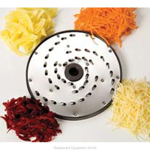 Piper Products 4-7 Food Processor, Shredding / Grating Disc Plate (Magnified)