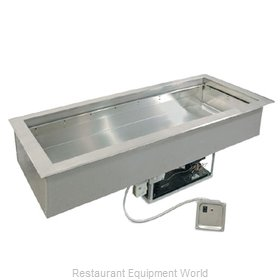 Piper Products 4-HCMDI Hot / Cold Food Well Unit, Drop-In, Electric