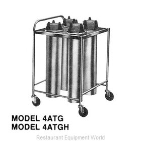 Piper Products 4ATGH6 Dispenser, Plate Dish, Mobile