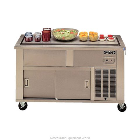 Piper Products 6-FT Serving Counter Frost Top Buffet