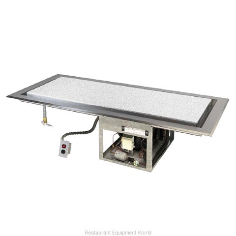 Piper Products 6-FTDI Drop-In Frost Top