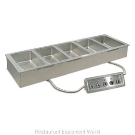 Piper Products 6HFW-1 Hot Food Well Unit, Drop-In, Electric